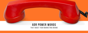 ADR Power Words